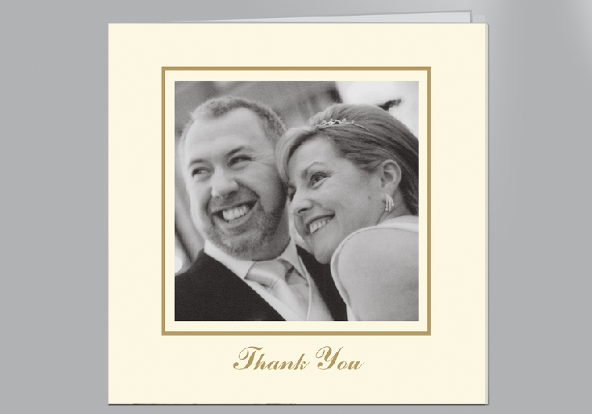 Wedding Stationery Square Frame Photo