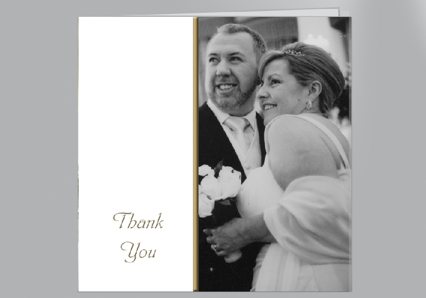 Wedding Stationery Side Panel Photo
