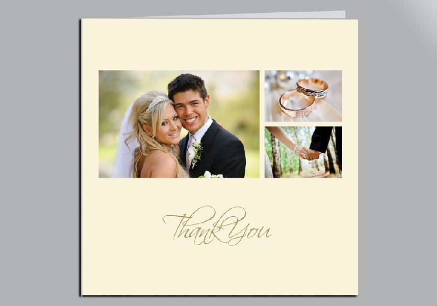 Wedding Stationery 3 Photo Collage