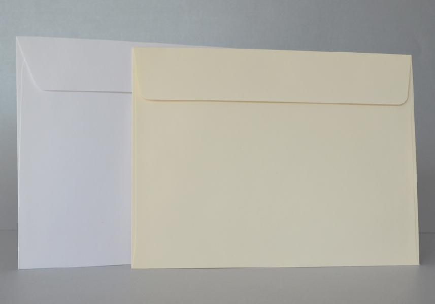 Wedding Stationery Ivory Envelopes 185x133