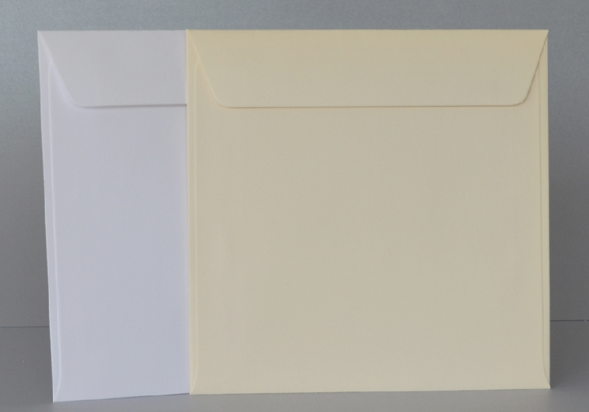 Wedding Stationery White Envelopes 165x165