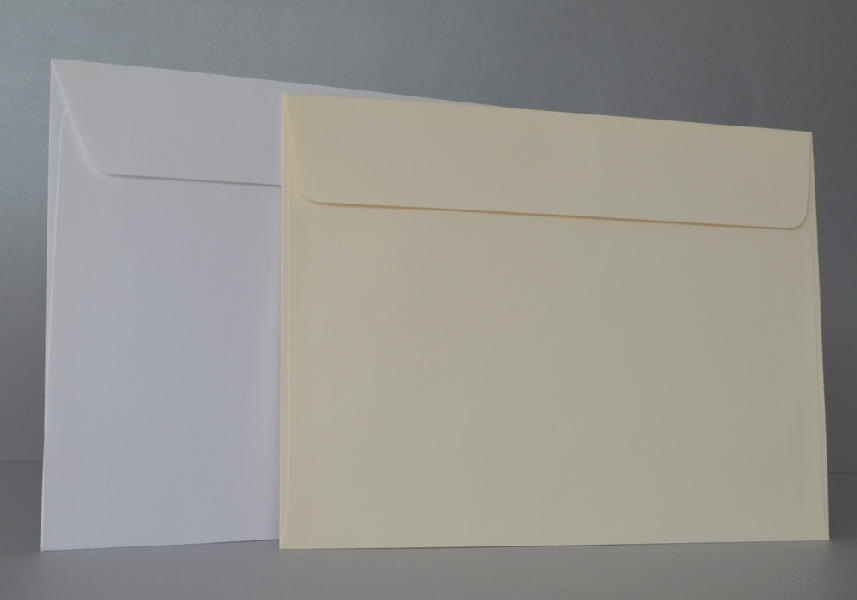 Wedding Stationery White Envelopes 210x159
