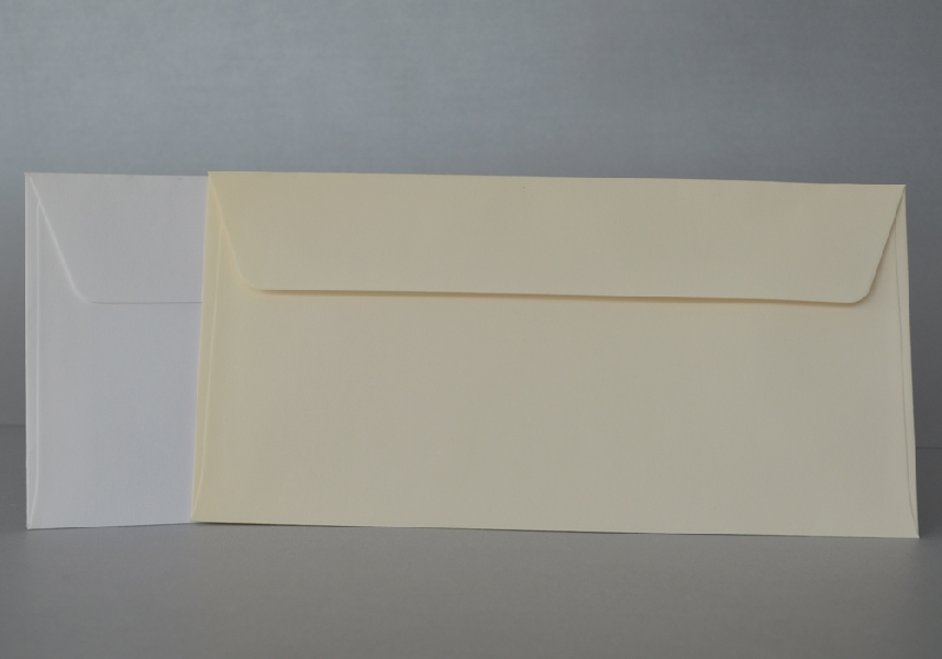 Wedding Stationery White Envelopes 220x110