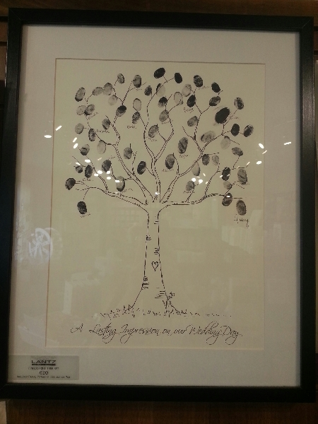 Wedding Stationery Tree Guest Book