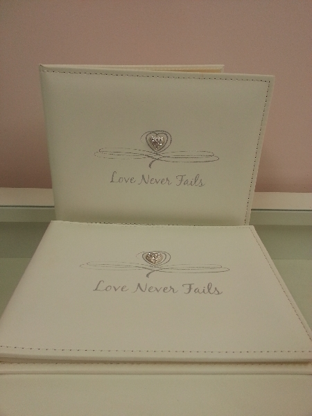 Wedding Stationery Guest Book Love