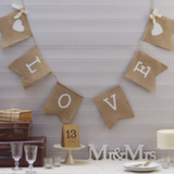 Wedding Stationery Love Banner