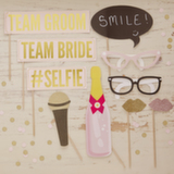 Wedding Stationery Photo Booth-Team Bride & Groom