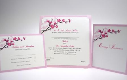 Wedding Stationery Blossoms (550)