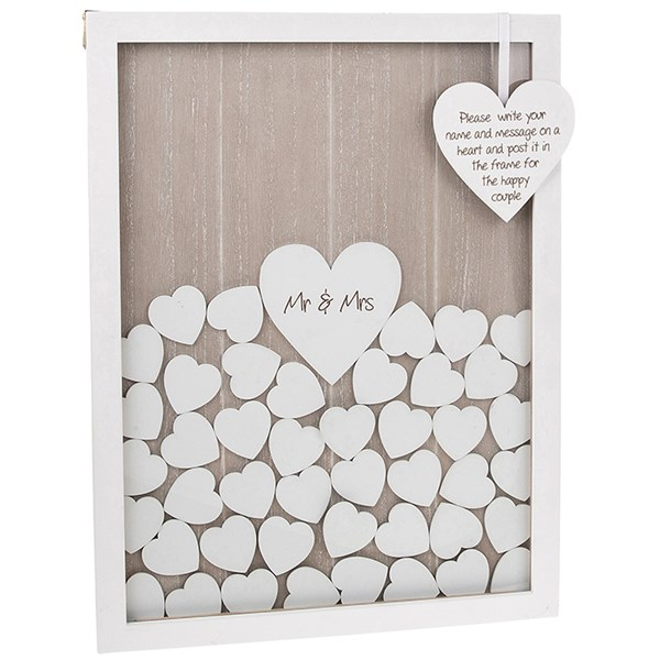 Wedding Stationery Drop Heart Box
