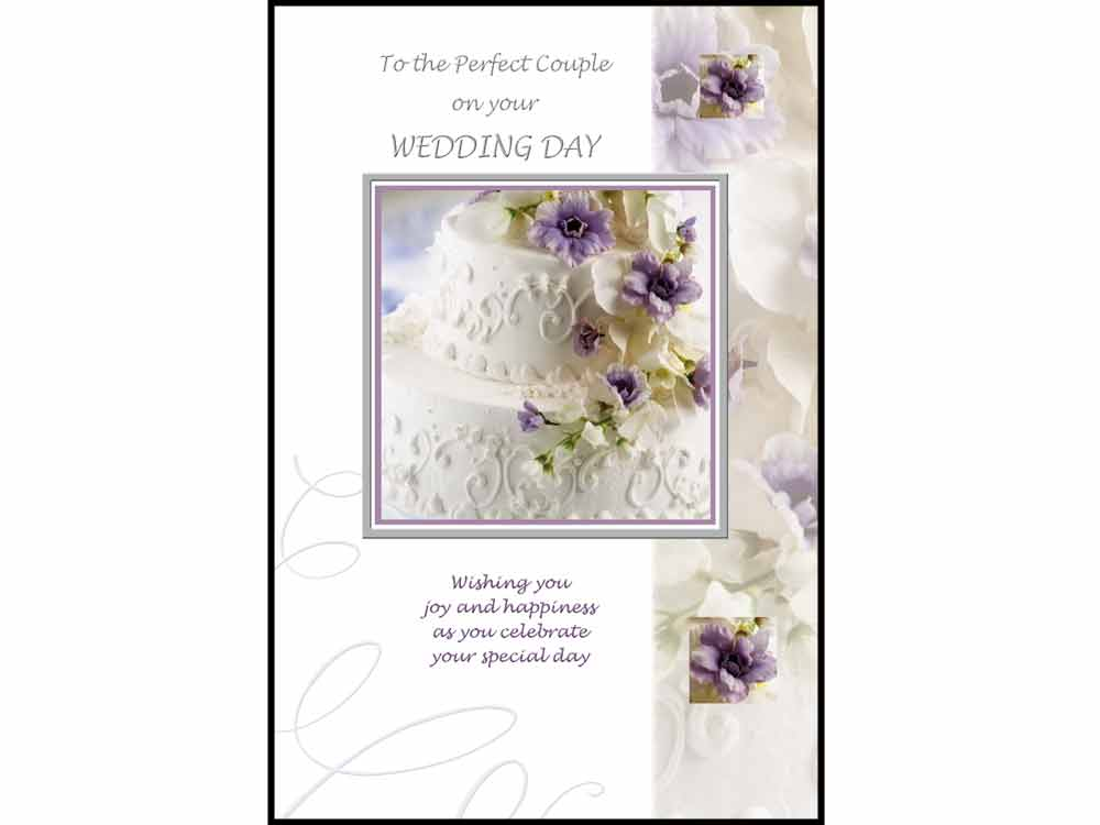 Wedding Stationery To the Perfect Couple on your Wedding Day