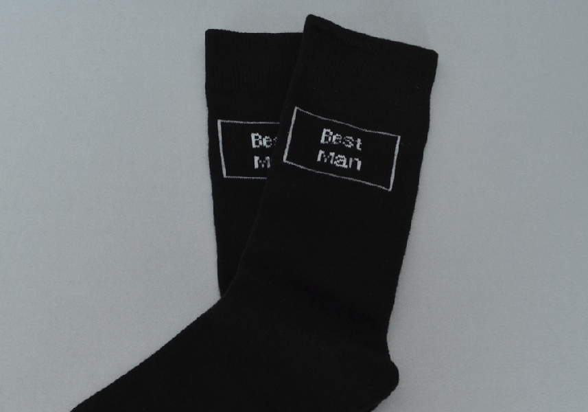 Wedding Stationery Wedding Socks Best Man