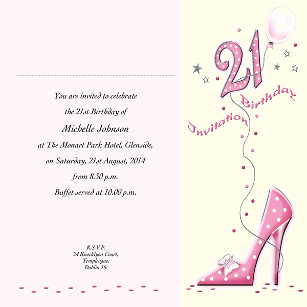 Occasion Card 21 4i