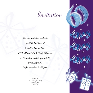 Occasion Card 60 2w