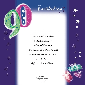 Occasion Card 90 1i