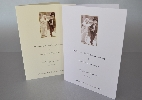 Wedding Stationery Quirky Sepia Couple