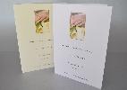 Wedding Stationery Hands on Arum Lillies