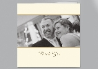 Wedding Stationery Horizontal Panel Photo