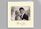 Wedding Stationery Ornate Frame Photo