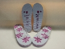 Wedding Stationery Just Married Flip Flops 6-8