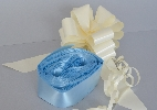 Image of Light Blue Pull Bows