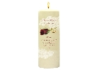Image of Red Rose Candle with Keepsake Wrap