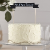 Wedding Stationery Cake Decoration Chalkboard