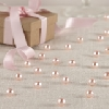 Wedding Stationery Table Pearls Pink