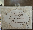 Wedding Stationery Daddy Here Come Mammy (A4)