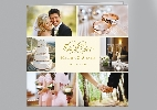 Wedding Stationery 6 Photo Collage