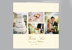 Wedding Stationery 4 Photo Collage