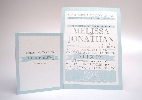 Wedding Stationery Single Banner Style (585)