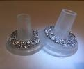 Wedding Stationery Heel Stoppers-Diamonte Medium