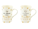 Wedding Stationery Mad Dots Mug Set