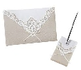 Wedding Stationery Guest Book & Pen Set