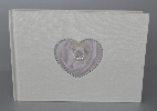 Wedding Stationery Pearl Heart