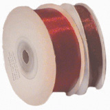 Wedding Stationery 23mm Burgundy Organza Ribbon