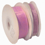 Wedding Stationery 9mm Lilac Organza Ribbon