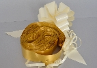 Wedding Stationery Gold Pull Bow