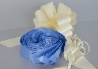 Wedding Stationery Mid Blue Pull Bow