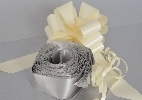 Wedding Stationery Silver Pull Bow