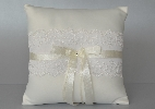 Wedding Stationery Ivory Ring Cushion