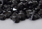 Wedding Stationery Black Large Diamante Gems