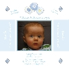 Baby Cards Boy Birth Announcement