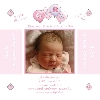 Baby Cards Girl Birth Announcement