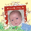 Baby Cards Boy - Rabbits with Book