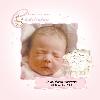 Baby Cards Christening Girl - Bear Family