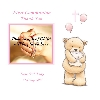 Baby Cards Communion Thank You Card Girl