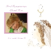 Baby Cards Girl Communion Thank You