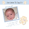 Image of Boy Thank You Card