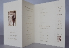 Wedding Stationery Bookmark with Design Options (381)